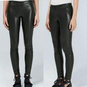 Aritzia Wilfred vegan leather leggings / pants